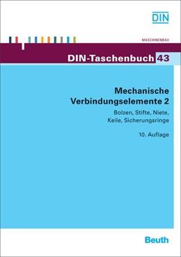 Abbildung von Mechanische Verbindungselemente 2 | 2012 | Bolzen, Stifte, Niete, Keile, ... | 43