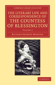 Abbildung von Madden / Blessington | The Literary Life and Correspondence of the Countess of Blessington | 2012