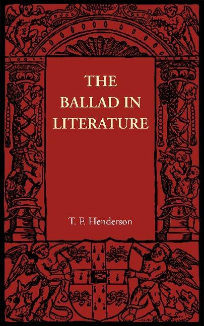 Abbildung von Henderson   The Ballad in Literature   2012