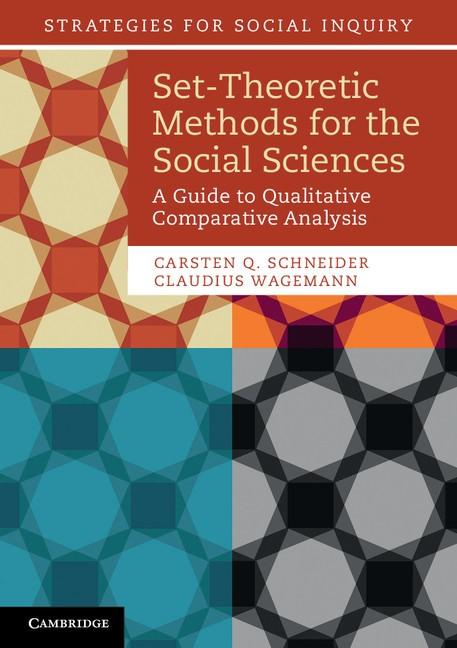 Abbildung von Schneider / Wagemann | Set-Theoretic Methods for the Social Sciences | 2012