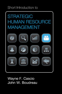 Abbildung von Cascio / Boudreau | Short Introduction to Strategic Human Resource Management | 2012
