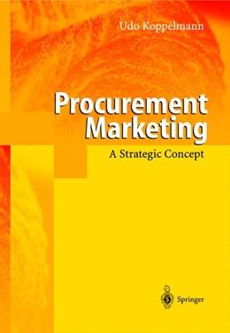 Abbildung von Koppelmann | Procurement Marketing | 1998 | A Strategic Concept