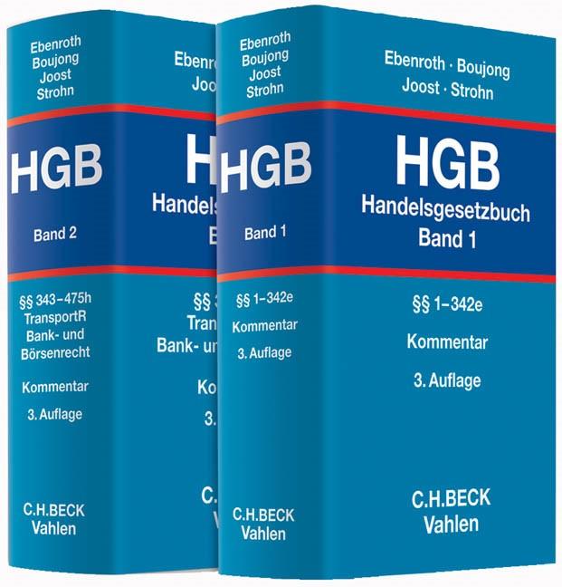 Abbildung von Ebenroth / Boujong / Joost / Strohn | Handelsgesetzbuch: HGB | 3. Auflage