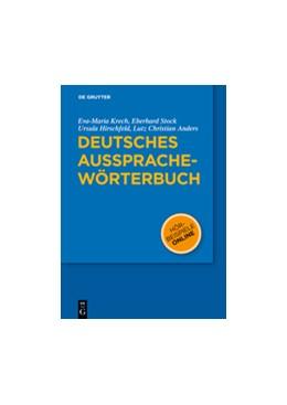 Abbildung von Krech / Stock / Hirschfeld   Deutsches Aussprachewörterbuch   2010