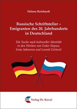 Abbildung von Reinhardt | Russische Schriftsteller – Emigranten des 20. Jahrhunderts in Deutschland | 2012