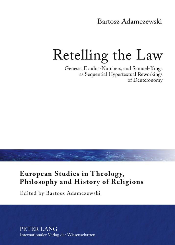 Abbildung von Adamczewski | Retelling the Law | 2012
