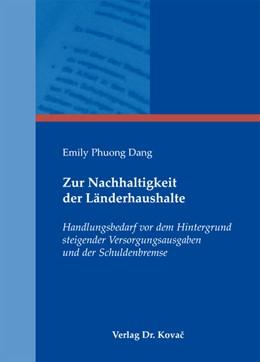 Abbildung von Dang | Zur Nachhaltigkeit der Länderhaushalte | 2012 | Handlungsbedarf vor dem Hinter... | 178
