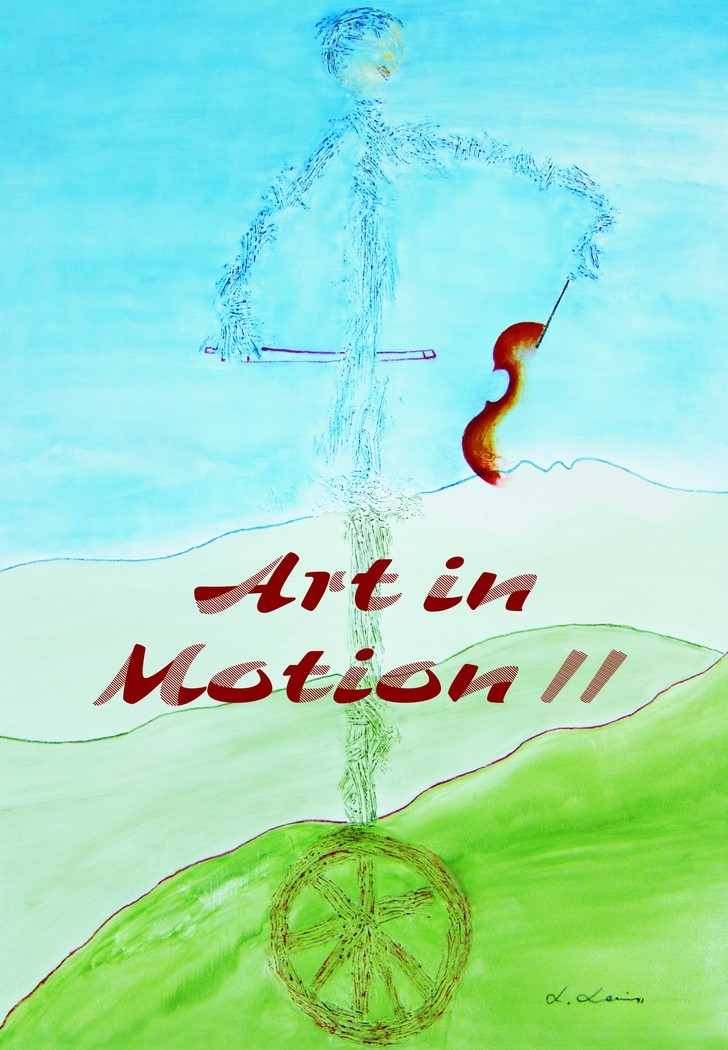 Art in Motion II | Mornell, 2012 | Buch (Cover)