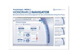 Abbildung von PraxisCockpit - MODUL 1: HonorarNavigator© | 2014 | Befundorientiertes Honorarmana...