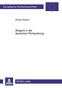 Abbildung von Sulikan | Slogans in der deutschen Printwerbung | 2011 | Untersuchung zu Form, Inhalt u... | 376