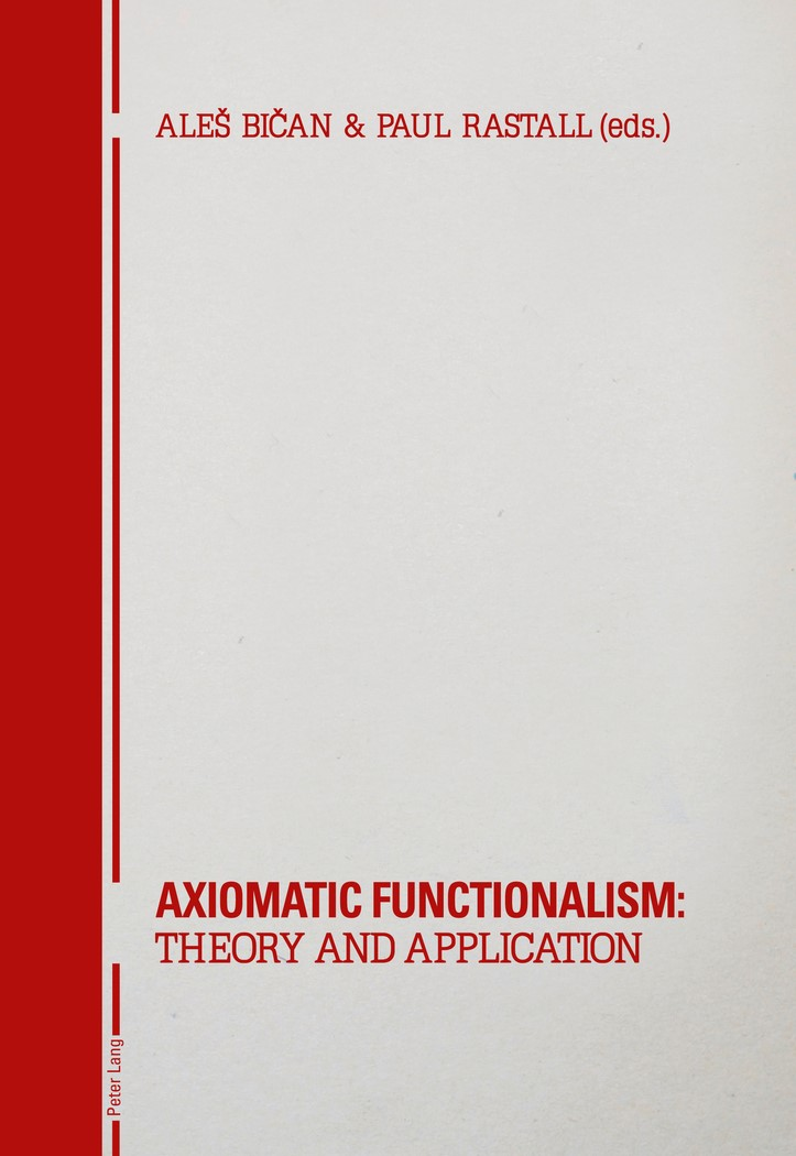 Abbildung von Bican / Rastall | Axiomatic Functionalism: Theory and Application | 2012