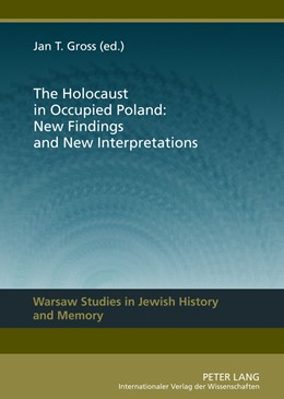 Abbildung von Gross | The Holocaust in Occupied Poland: New Findings and New Interpretations | 2012 | 1