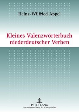 Abbildung von Appel | Kleines Valenzwörterbuch niederdeutscher Verben | 2012