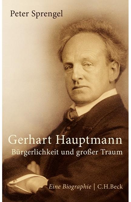 Cover: Peter Sprengel, Gerhart Hauptmann