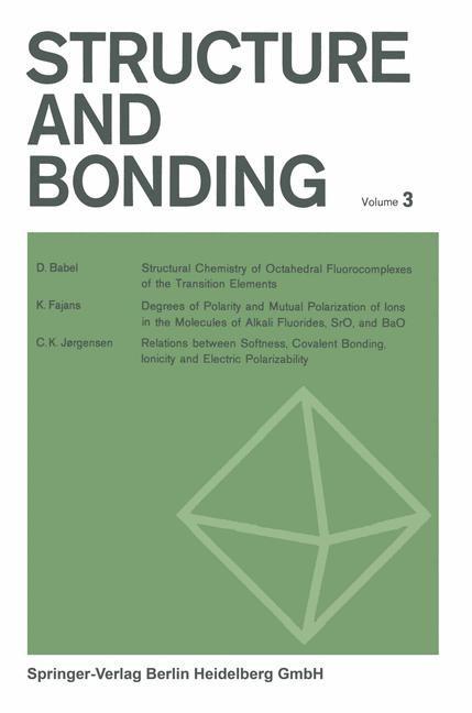 Abbildung von Jørgensen / Neilands / Nyholm | Structure and Bonding | 1967