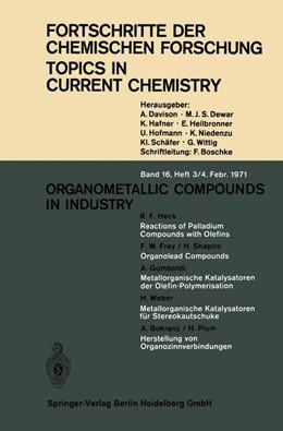 Abbildung von Houk / Hunter / Krische | Organometallic Compounds in Industry | 1971 | 16/3-4