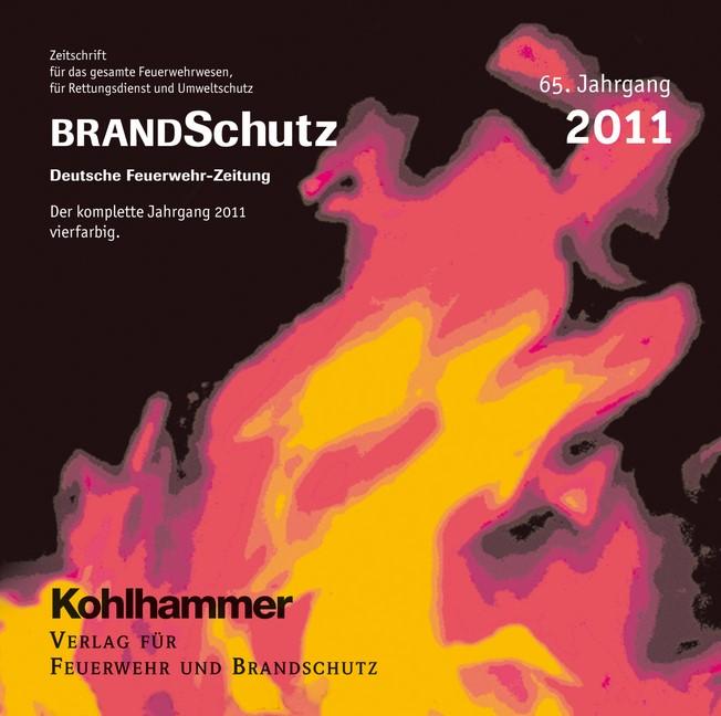 Abbildung von BRANDSchutz 2011 auf CD-ROM | 65. Jahrgang | 2012