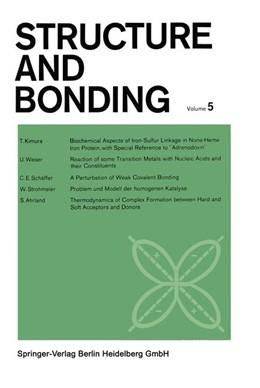 Abbildung von Jørgensen / Neilands / FRS | Structure and Bonding | 1968
