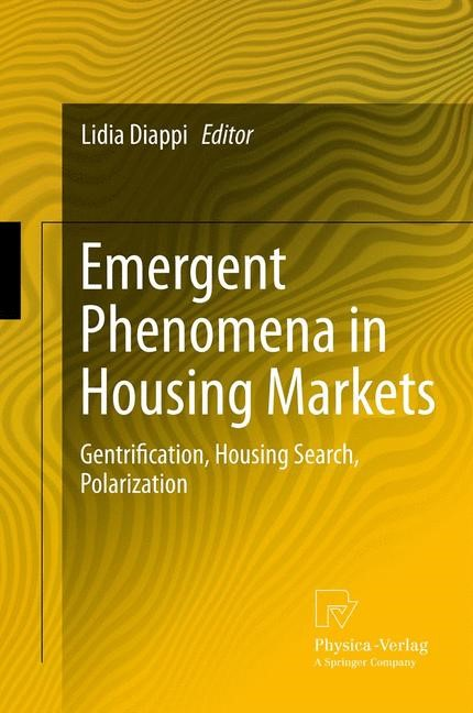 Abbildung von Diappi | Emergent Phenomena in Housing Markets | 2012