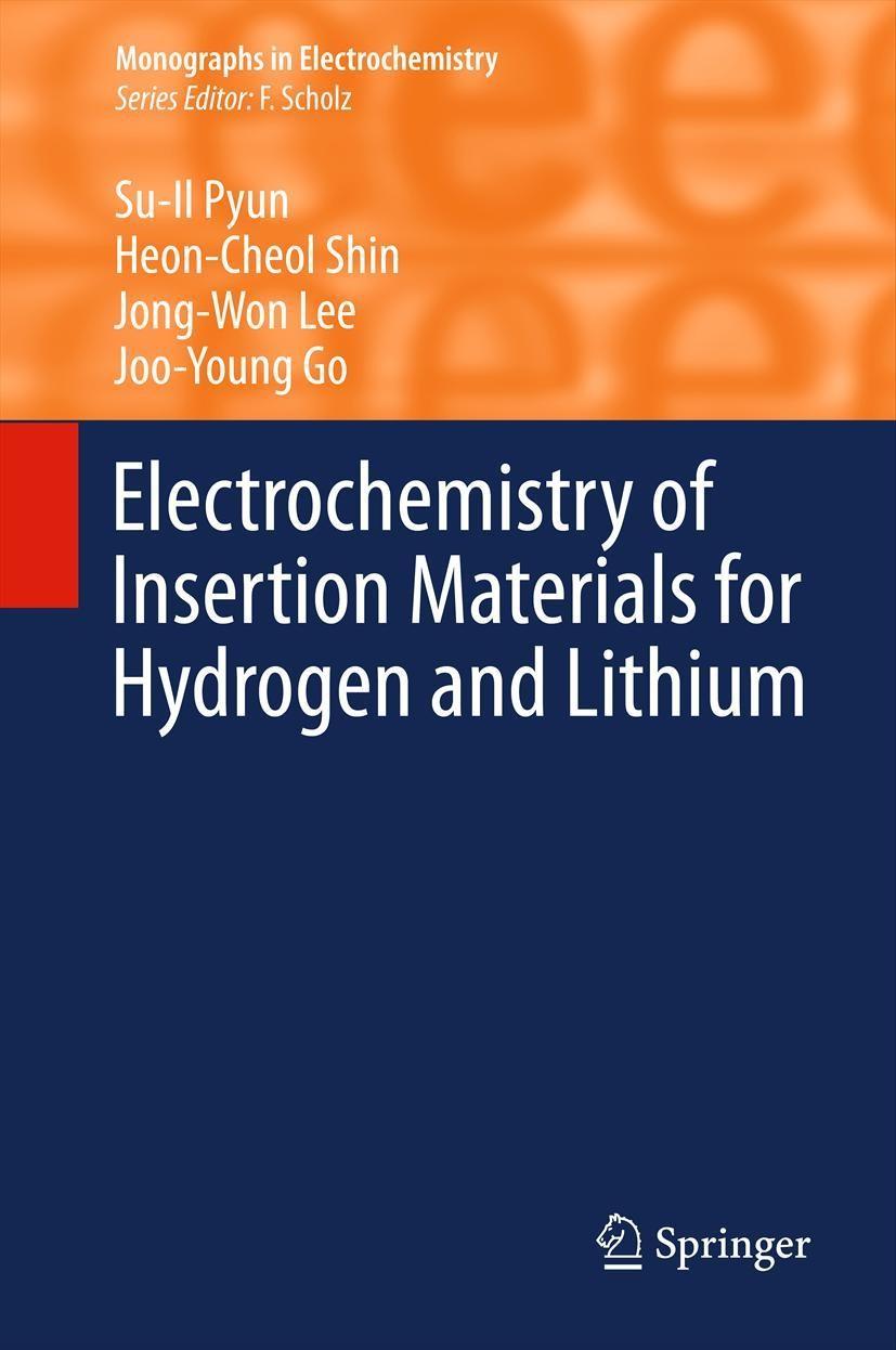 Abbildung von Pyun / Shin / Lee   Electrochemistry of Insertion Materials for Hydrogen and Lithium   2012