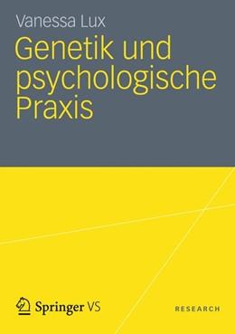 Abbildung von Lux   Genetik und psychologische Praxis   2012