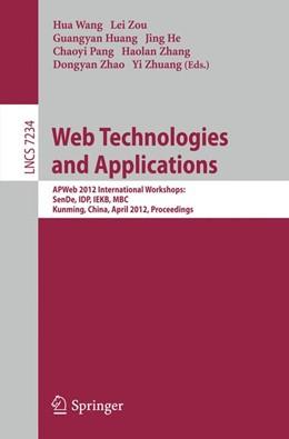 Abbildung von Wang / Zou / Huang / He / Pang / Zhang / Zhao / Yi   Web Technologies and Applications   2012   APWeb 2012 International Works...