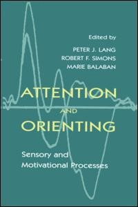 Abbildung von Lang / Simons / Balaban | Attention and Orienting | 1997