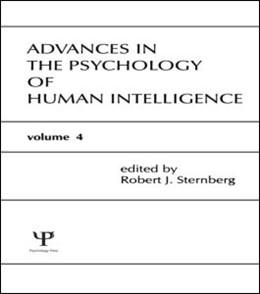 Abbildung von Sternberg | Advances in the Psychology of Human Intelligence | 1988