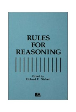 Abbildung von Nisbett | Rules for Reasoning | 1993