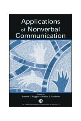 Abbildung von Riggio / Feldman | Applications of Nonverbal Communication | 2005