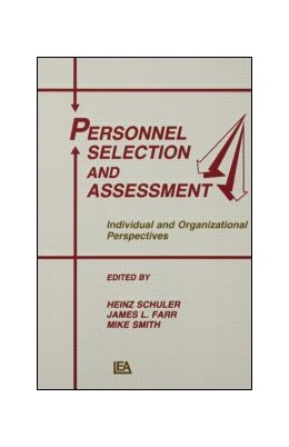 Abbildung von Schuler / Farr / Smith | Personnel Selection and Assessment | 1993 | Individual and Organizational ...