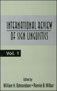 Abbildung von Edmondson / Wilbur | International Review of Sign Linguistics | 1996