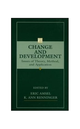 Abbildung von Amsel / Renninger | Change and Development | 1997 | Issues of Theory, Method, and ...