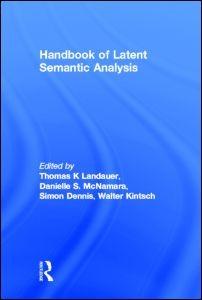 Abbildung von Landauer / McNamara / Dennis / Kintsch | Handbook of Latent Semantic Analysis | 2007
