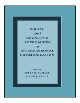Abbildung von Fussell / Kreuz | Social and Cognitive Approaches to Interpersonal Communication | 1998