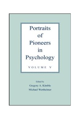 Abbildung von Kimble / Wertheimer | Portraits of Pioneers in Psychology | 2003 | Volume V