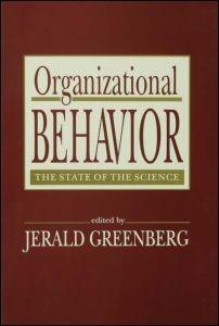 Abbildung von Greenberg | Organizational Behavior | 1994