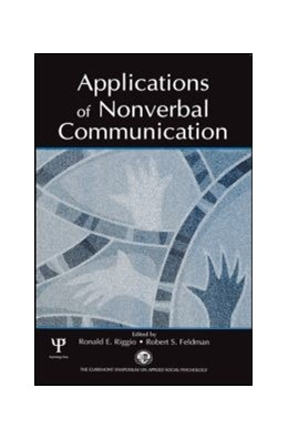 Abbildung von Riggio / Feldman | Applications of Nonverbal Communication | 2005