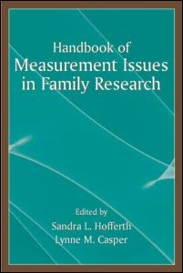 Abbildung von Hofferth / Casper | Handbook of Measurement Issues in Family Research | 2006