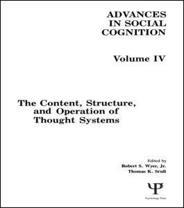 Abbildung von Wyer, Jr. / Srull | The Content, Structure, and Operation of Thought Systems | 1991