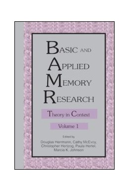 Abbildung von Herrmann / Hertzog / McEvoy / Hertel / Johnson | Basic and Applied Memory Research | 1996 | Volume 1: Theory in Context; V...