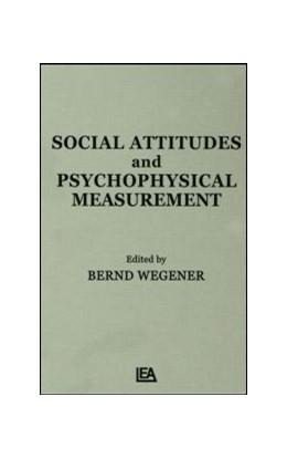Abbildung von Wegener | Social Attitudes and Psychophysical Measurement | 1982