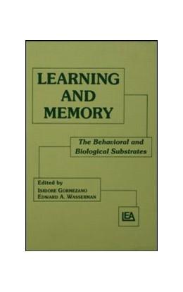 Abbildung von Gormezano / Wasserman | Learning and Memory | 1992 | The Behavioral and Biological ...