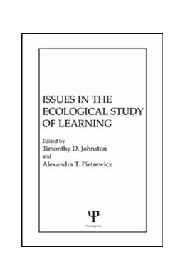 Abbildung von Johnston / Pietrewicz | Issues in the Ecological Study of Learning | 1985