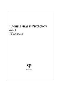 Abbildung von Sutherland   Tutorial Essays in Psychology   1979   Volume 2