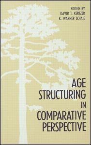 Abbildung von Kertzer / Schaie   Age Structuring in Comparative Perspective   1989