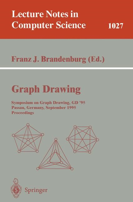 Graph Drawing | Brandenburg, 1996 | Buch (Cover)