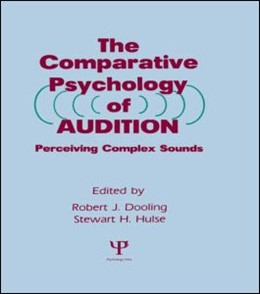 Abbildung von Dooling / Hulse | The Comparative Psychology of Audition | 1989 | Perceiving Complex Sounds