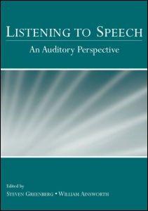 Abbildung von Greenberg / Ainsworth | Listening to Speech | 2006