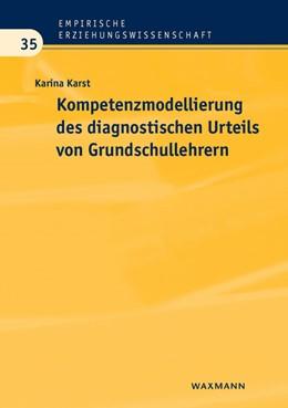 Abbildung von Karst | Kompetenzmodellierung des diagnostischen Urteils von Grundschullehrern | 2012 | 35